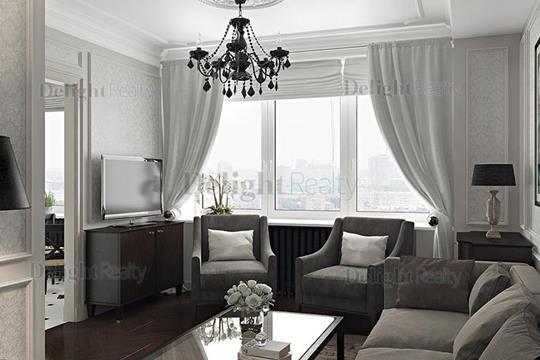 1-комнатная квартира, 40 м<sup>2</sup>, 22 этаж