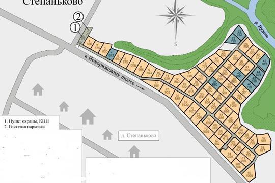 Участок, 11 соток, деревня Степаньково  , Волоколамское шоссе