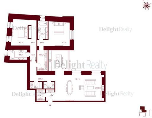 3-комн квартира, 171.7 м<sup>2</sup>, 4 этаж_1