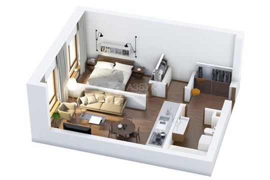 2-комнатная квартира, 59 м<sup>2</sup>, 31 этаж
