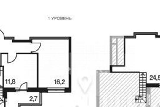 3-комнатная квартира, 88.8 м2, 20 этаж