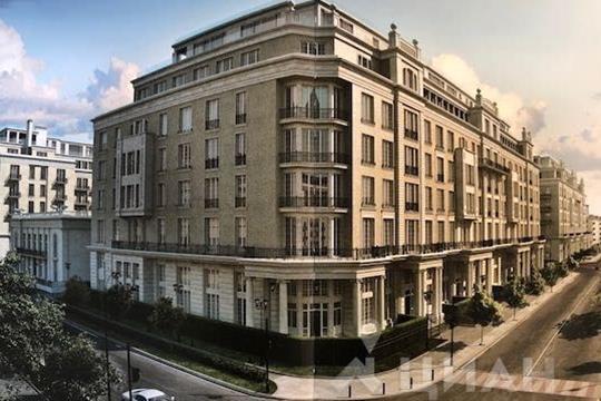 Многокомнатная квартира, 377.3 м<sup>2</sup>, 7 этаж