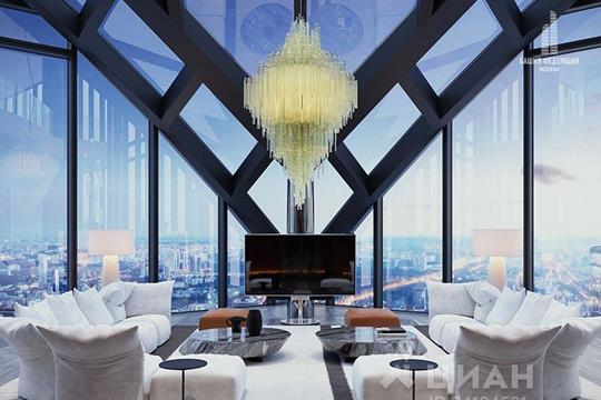 5-комнатная квартира, 719 м<sup>2</sup>, 93 этаж