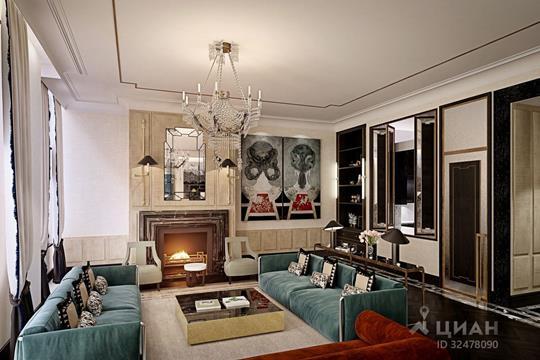 5-комнатная квартира, 311.5 м<sup>2</sup>, 7 этаж