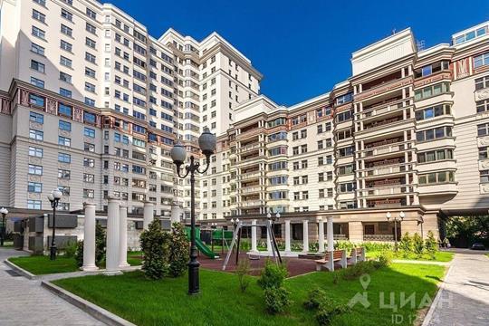 Многокомнатная квартира, 271 м<sup>2</sup>, 17 этаж