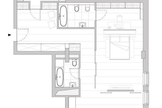 Студия, 98.7 м<sup>2</sup>, 5 этаж