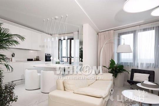 3-комнатная квартира, 101 м<sup>2</sup>, 12 этаж