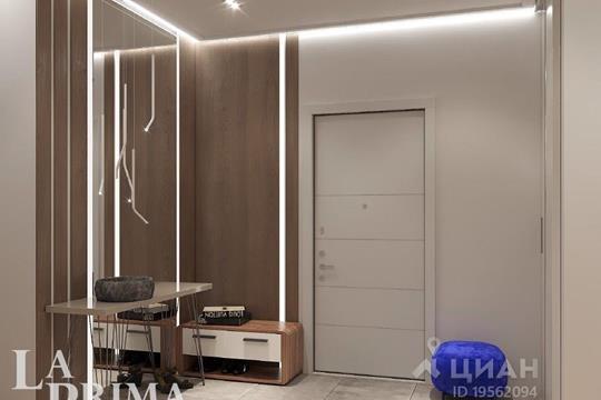 3-комнатная квартира, 121.6 м<sup>2</sup>, 23 этаж