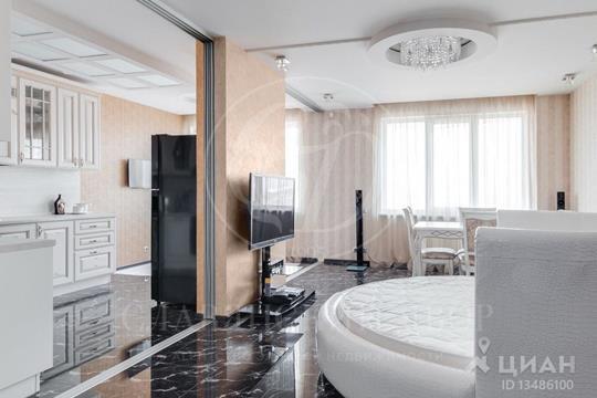 3-комнатная квартира, 121 м<sup>2</sup>, 14 этаж
