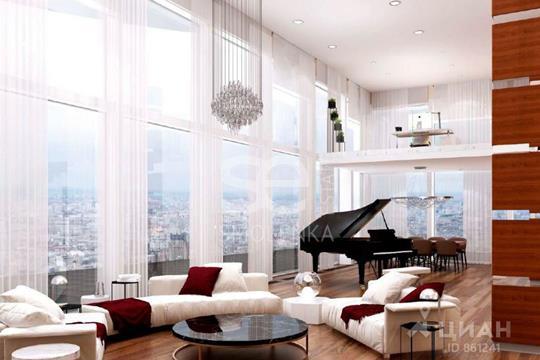 5-комнатная квартира, 574 м<sup>2</sup>, 73 этаж