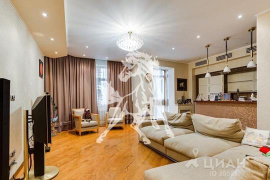 Многокомнатная квартира, 236 м<sup>2</sup>, 4 этаж