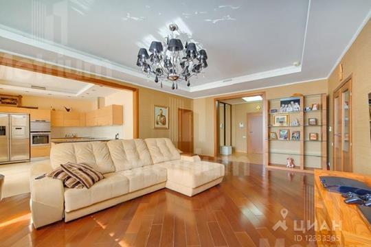 4-комнатная квартира, 180 м<sup>2</sup>, 18 этаж