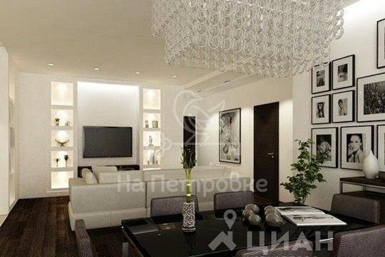 4-комнатная квартира, 127 м<sup>2</sup>, 35 этаж