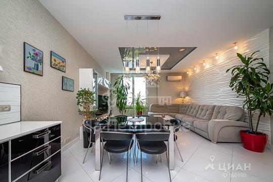 4-комнатная квартира, 118.3 м<sup>2</sup>, 26 этаж