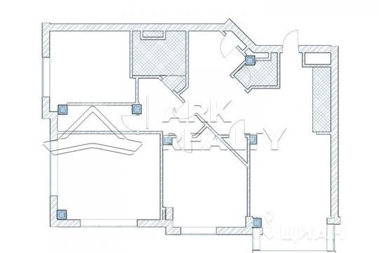 4-комнатная квартира, 131 м<sup>2</sup>, 28 этаж