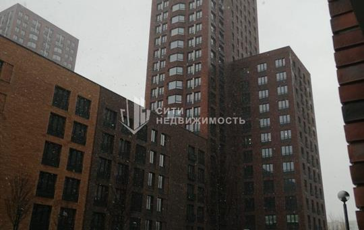 1-комн квартира, 32 м2, 21 этаж