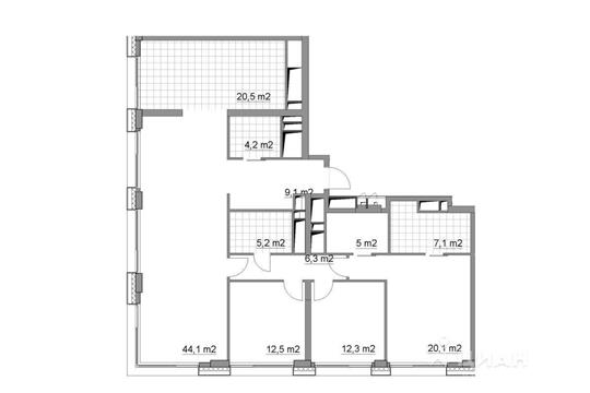 4-комнатная квартира, 146.4 м<sup>2</sup>, 32 этаж