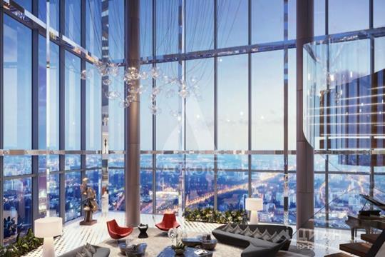 Квартира свободной планировки, 2180.9 м<sup>2</sup>, 95 этаж