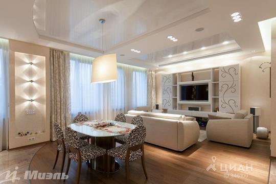 3-комнатная квартира, 128.8 м<sup>2</sup>, 7 этаж