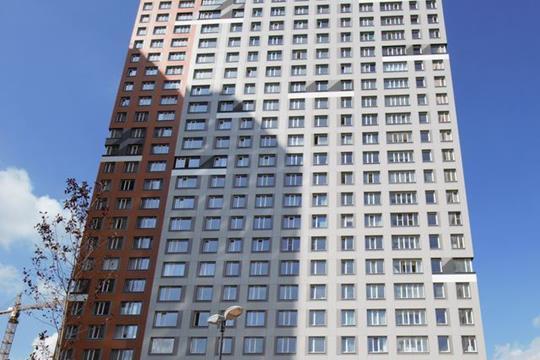3-комнатная квартира, 77.6 м<sup>2</sup>, 19 этаж