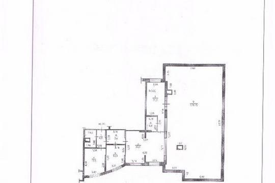 3-комнатная квартира, 155.4 м2, 10 этаж