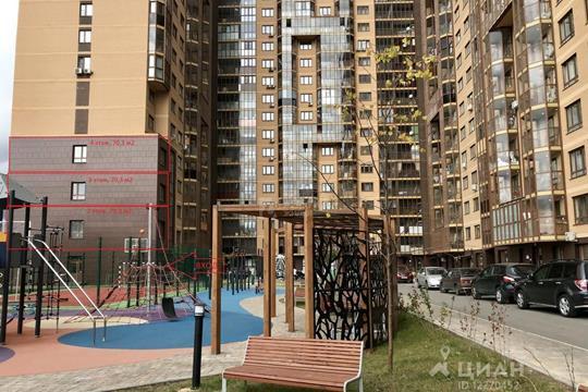 Многокомнатная квартира, 210.9 м<sup>2</sup>, 4 этаж