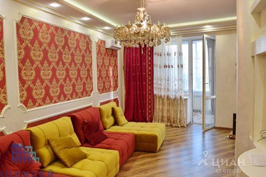 3-комнатная квартира, 109 м<sup>2</sup>, 25 этаж