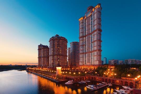 5-комнатная квартира, 206.7 м<sup>2</sup>, 24 этаж