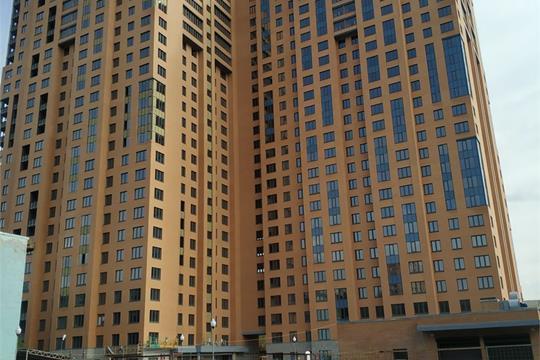1-комнатная квартира, 45 м<sup>2</sup>, 24 этаж
