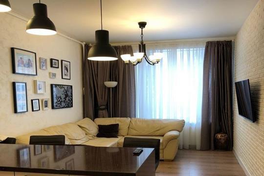 2-комнатная квартира, 74 м<sup>2</sup>, 1 этаж