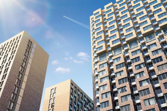 2-комнатная квартира, 55.9 м<sup>2</sup>, 13 этаж