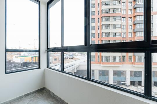 1-комнатная квартира, 58.1 м<sup>2</sup>, 28 этаж