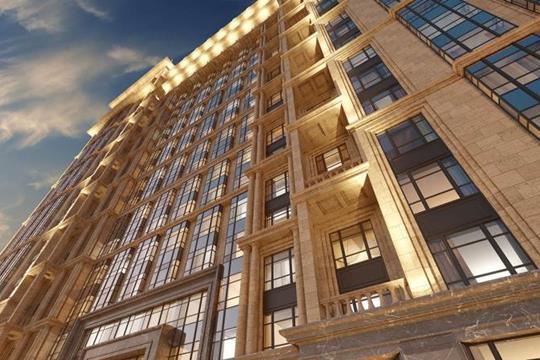 Квартира свободной планировки, 127.3 м<sup>2</sup>, 9 этаж