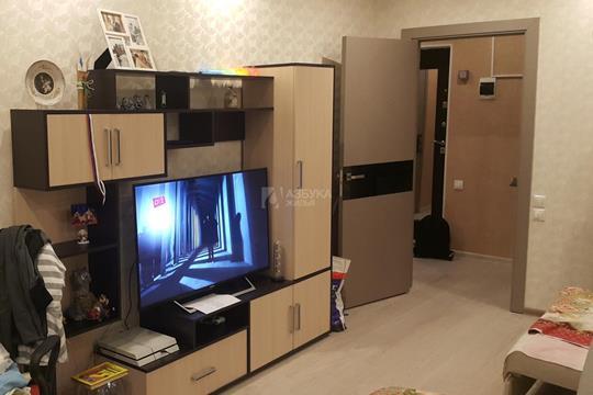 1-комнатная квартира, 40 м2, 10 этаж