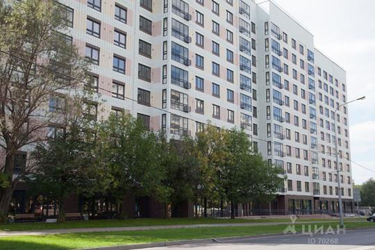 1-комнатная квартира, 42 м<sup>2</sup>, 12 этаж