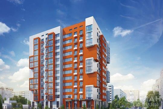2-комнатная квартира, 65.8 м<sup>2</sup>, 12 этаж