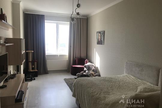 1-комнатная квартира, 44.2 м<sup>2</sup>, 25 этаж