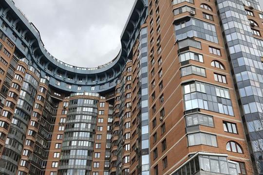 Многокомнатная квартира, 210 м<sup>2</sup>, 14 этаж