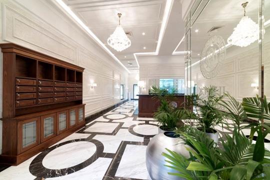 2-комнатная квартира, 126.1 м<sup>2</sup>, 2 этаж