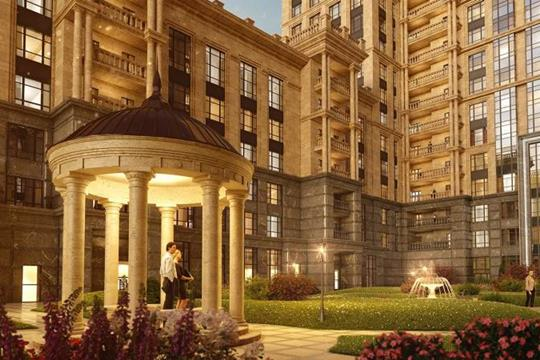 3-комнатная квартира, 127.6 м<sup>2</sup>, 19 этаж