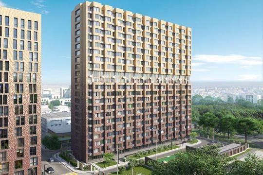 1-комнатная квартира, 47.3 м<sup>2</sup>, 18 этаж