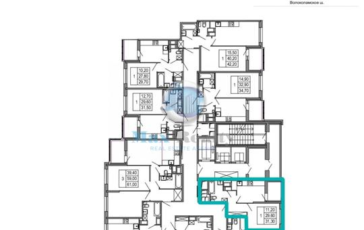 1-комнатная квартира, 31.3 м<sup>2</sup>, 17 этаж