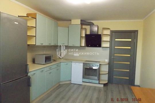 1-комнатная квартира, 52 м2, 22 этаж