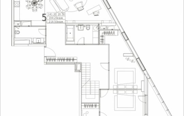 5-комнатная квартира, 214.5 м2, 10 этаж