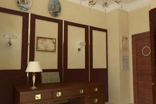 3-комнатная квартира, 90 м2, 3 этаж