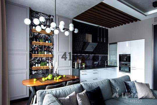 2-комнатная квартира, 81.5 м<sup>2</sup>, 2 этаж