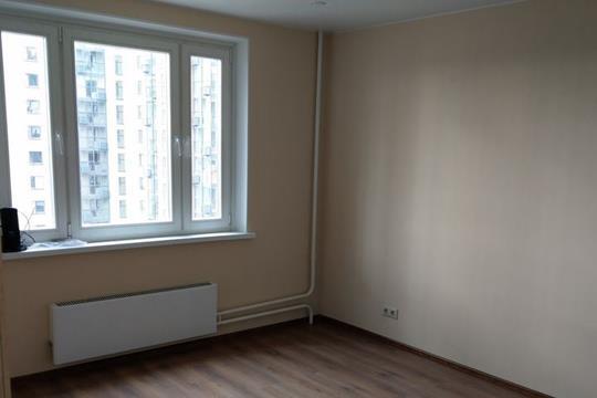 1-комнатная квартира, 37 м<sup>2</sup>, 22 этаж