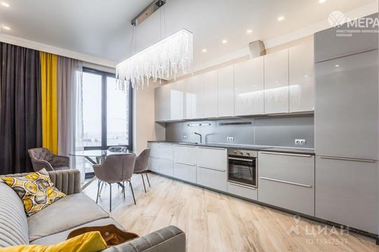 3-комнатная квартира, 71 м<sup>2</sup>, 18 этаж