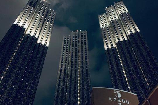3-комнатная квартира, 87.4 м<sup>2</sup>, 30 этаж
