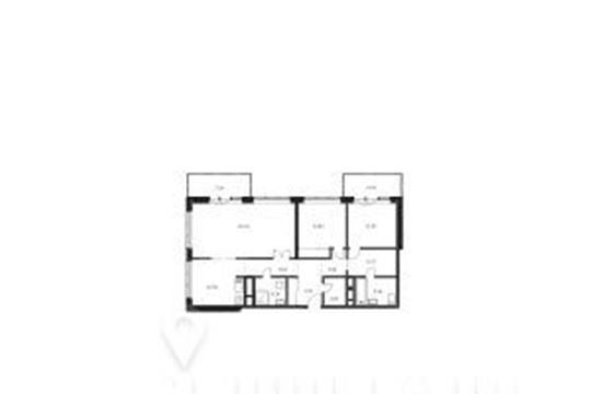 3-комнатная квартира, 101 м<sup>2</sup>, 22 этаж